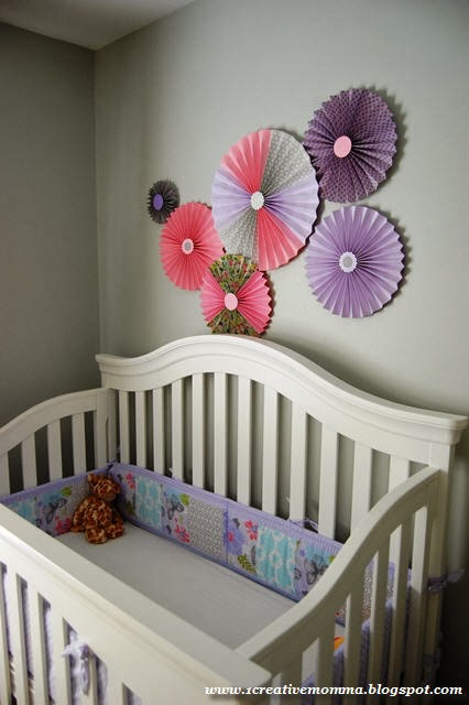 A Serene and Cozy Little Girl Nursery