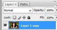 Hasil duplikat layer