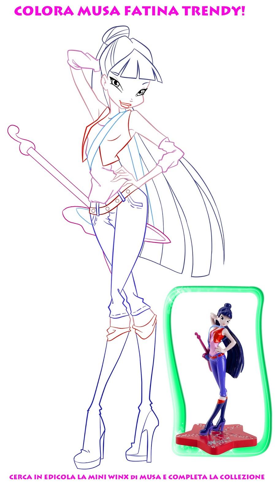 Immagini winx da colorare page 2 for Disegni regal academy da colorare
