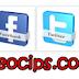 Widget Share Sosial Media Berputar