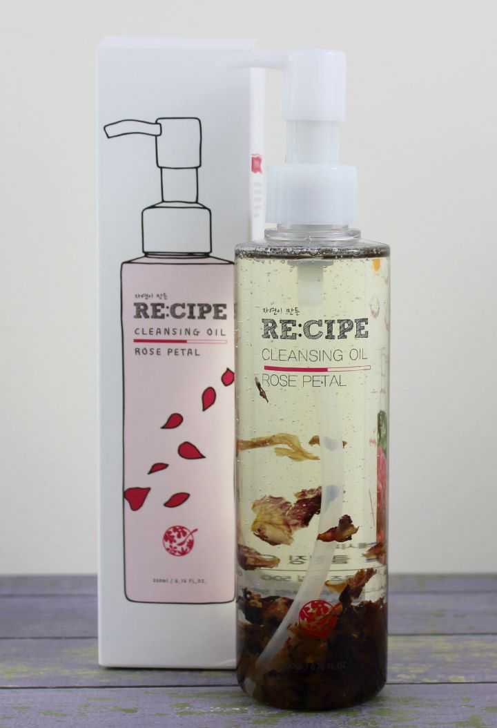 Care Cara detox RE:CIPE by Slowganic  (Recipe by Nature) Cleansing Oil - Rose Petal review.