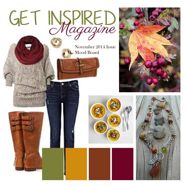 Get Inspired Issue 5 Mood Board