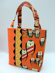 Ric-Racked Trick or Treat Bags...