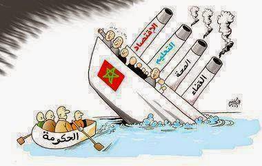 الوضعية في المغرب في ظل حكومة الاخوان الشياطين
