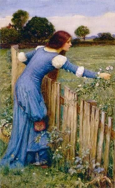 The Flower Picker, John William Waterhouse