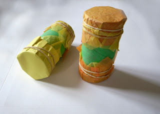 Toilet Paper Tube Rice Shaker