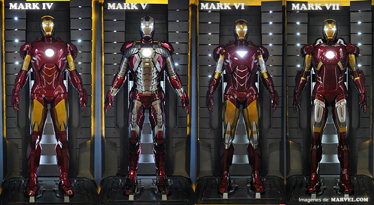 El Mark 42, protagonista de Iron Man 3