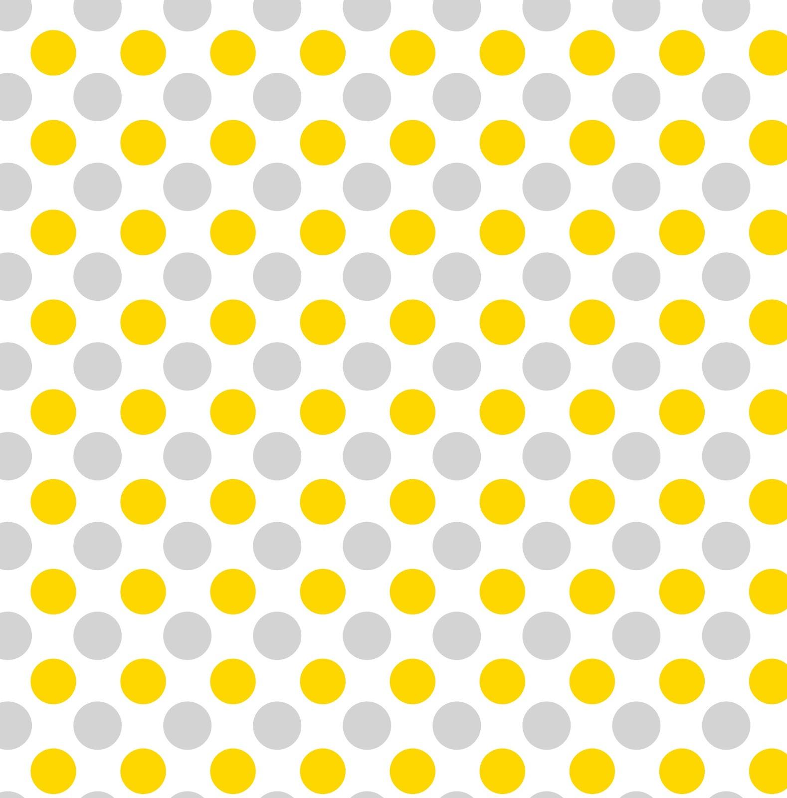 Inkscape TutorialYellow And Gray Polka Dots