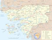 Mapa da Guine Bissau (mapa guine bissau)