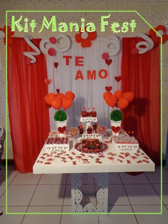 Kit Mania Fest Decoração dos Namorados