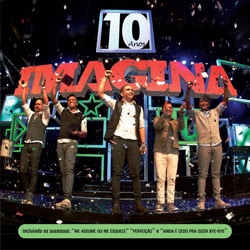 Imaginasamba - 10 Anos Ao Vivo AVI - DVD-R(2013)