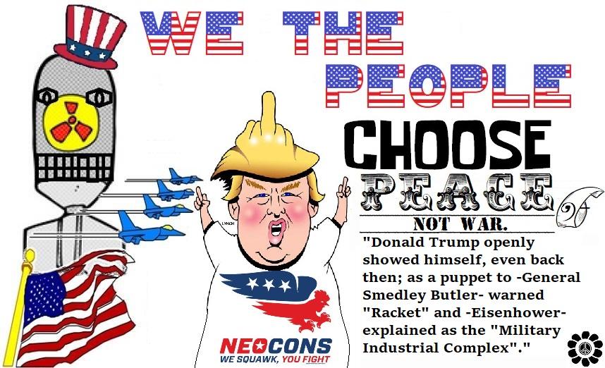 Flashback   It Was Warned Trump Is A Neocon