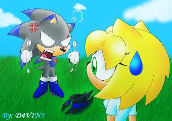 """¡¡Rompiste mi tesoro!!"""
