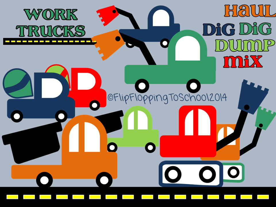 http://www.teacherspayteachers.com/Product/Construction-Work-Trucks-Clipart-for-Personal-and-Commercial-Use-1351796