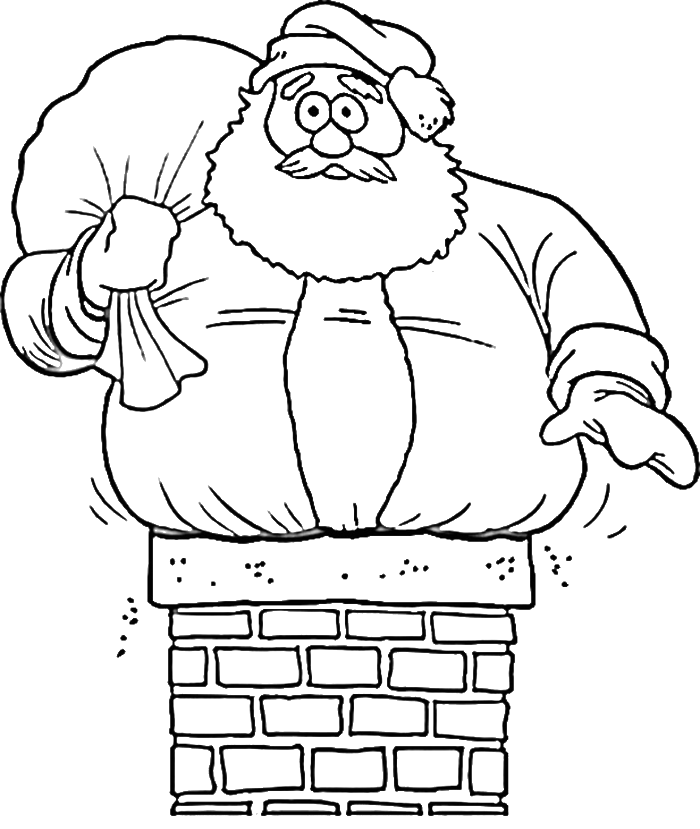 Christmas santa claus drawings wallpaper