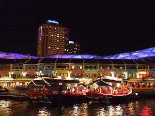 Clake Quay - Singapore