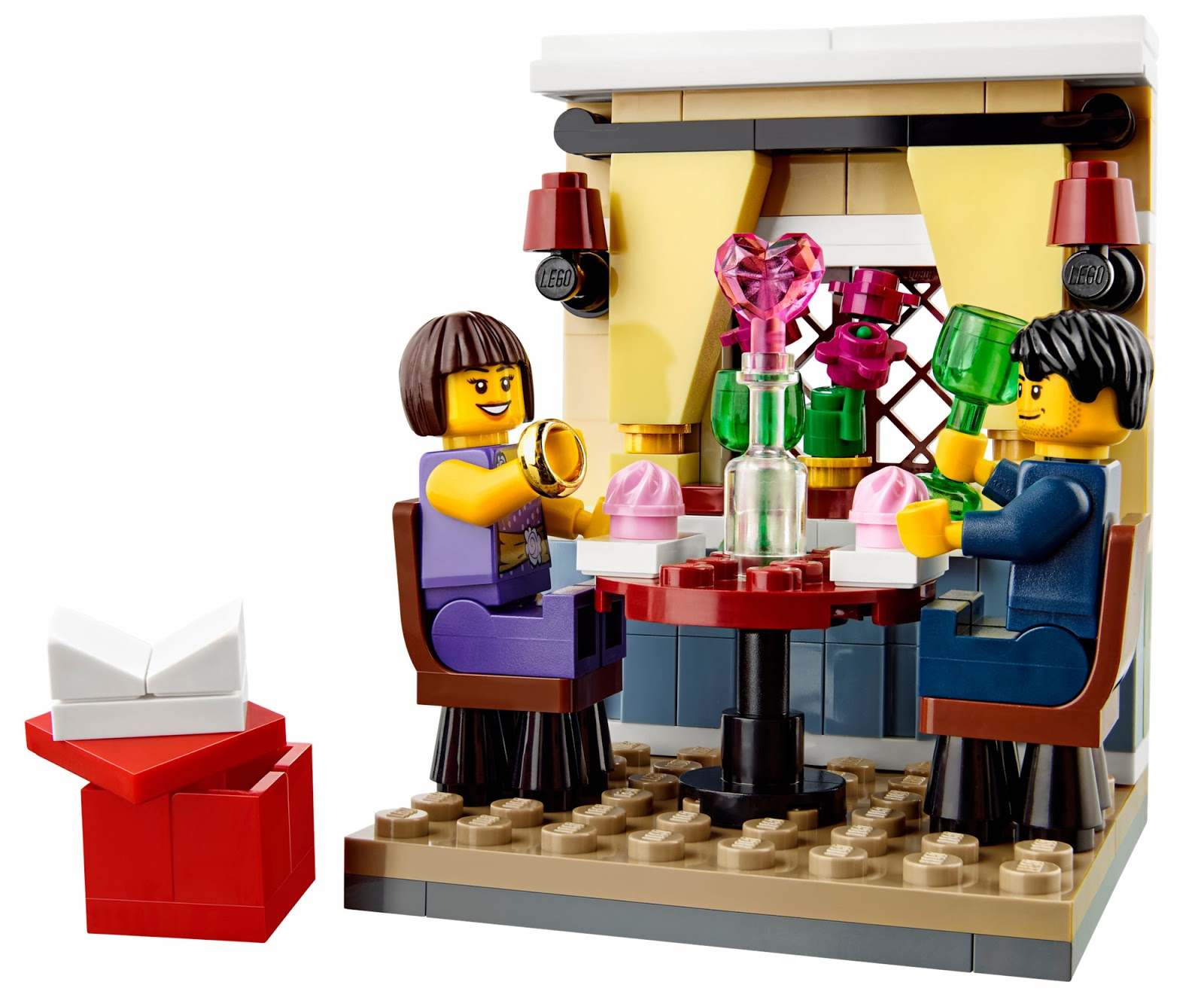 Valentine S Day Toys R Us : The brickverse lego in mood for love this valentine s day