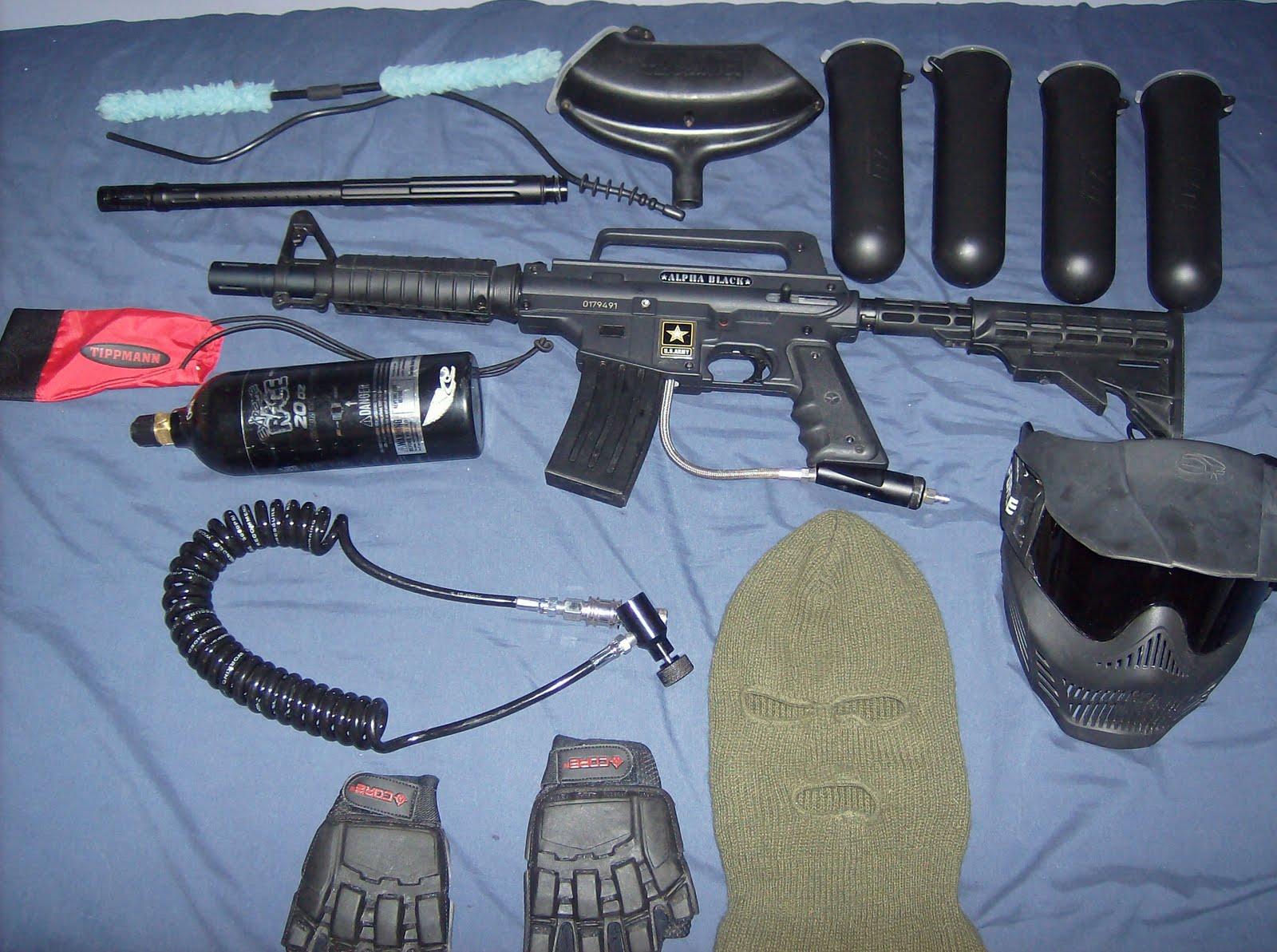 MARCADORA ALPHA BLACK, CHALECO RAP4, REMOTE, CARETA Y MAS Pistola%2B014