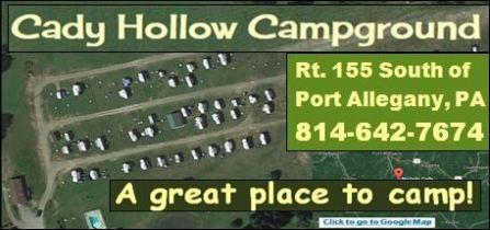 Cady Hollow Campground