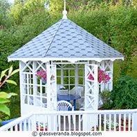 Sommerpaviljongen vår - Our garden gazebo