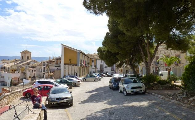 Cehegín, Plaza del Castillo.