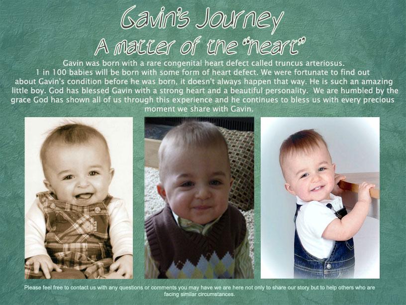 Gavin's Journey