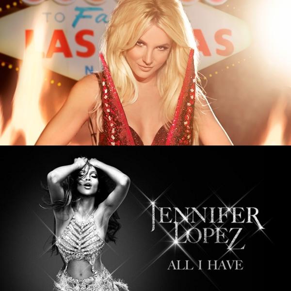 Planet Hollywood está removiendo la publicidad de Britney Spears por JLO