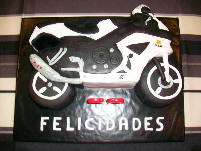 Tarta motocicleta