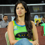 Lakshmi Rai  in Jeans at CCL Match  Photo Gallery