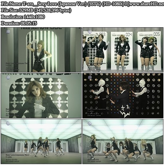 Download PV T-ara - Sexy Love (Japanese Version) (SSTV Full HD 1080i)