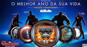 Promoção Gillette - O Melhor Ano Da Sua Vida - Edição Vingadores