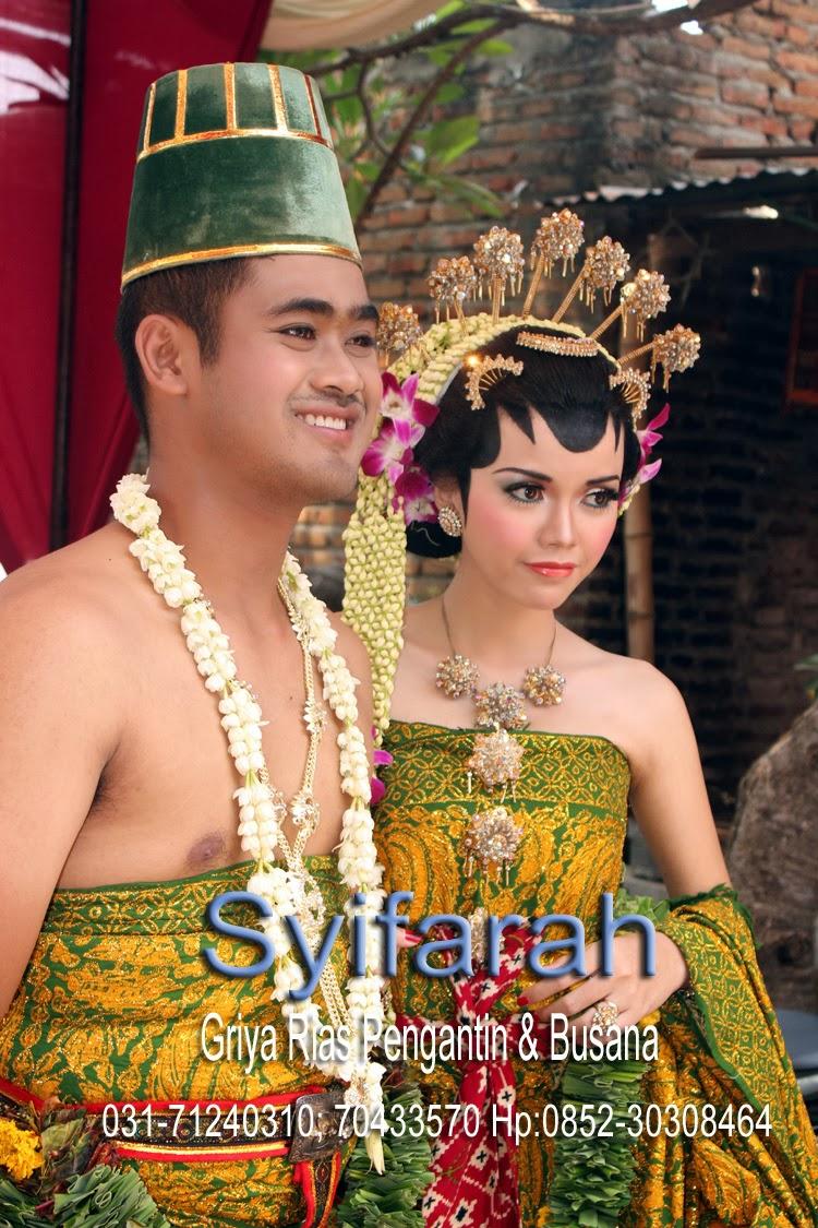 Pengantin Dodotan Solo Putri di Trowulan Mojokerto