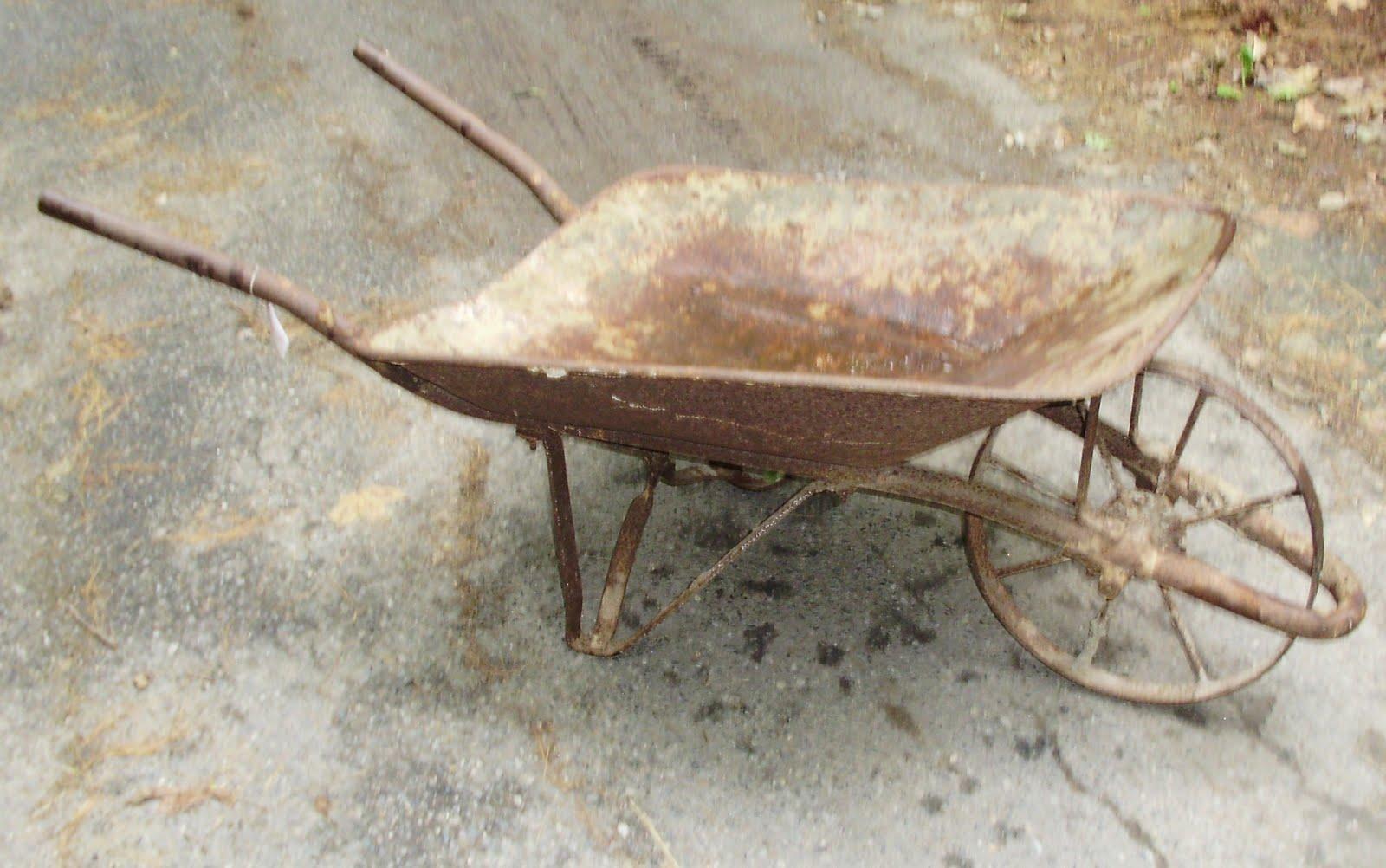 Antique Metal Wheelbarrow Best 2000 Antique Decor Ideas