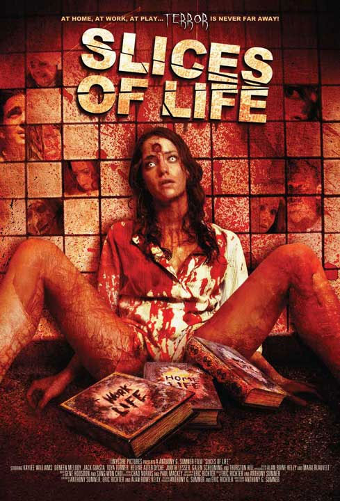 3 SLICES OF LIFE is a horror anthology made up of 3 different stories ...