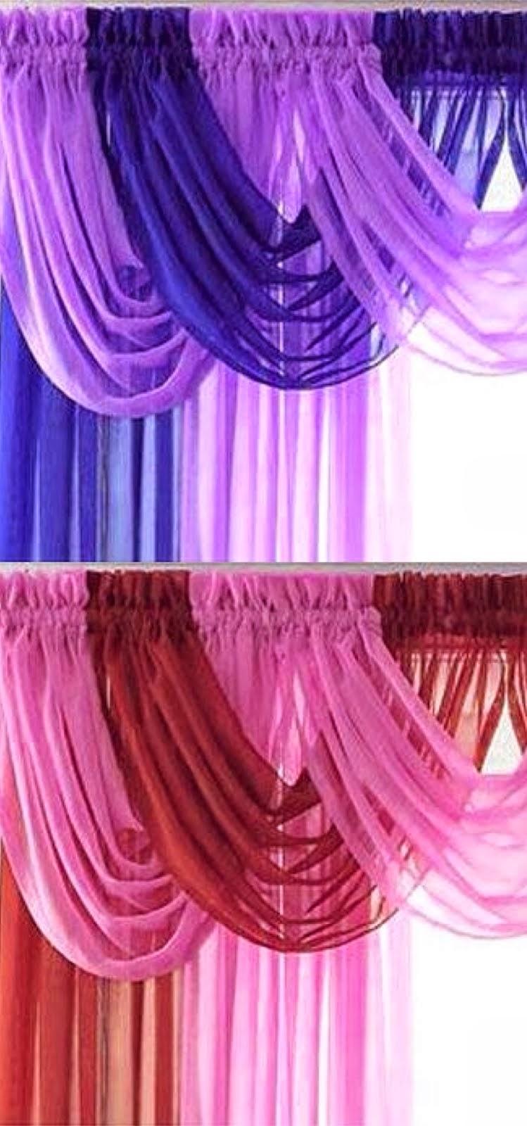 Cortinas artesanales cortina para ba o - Colores de cortinas ...