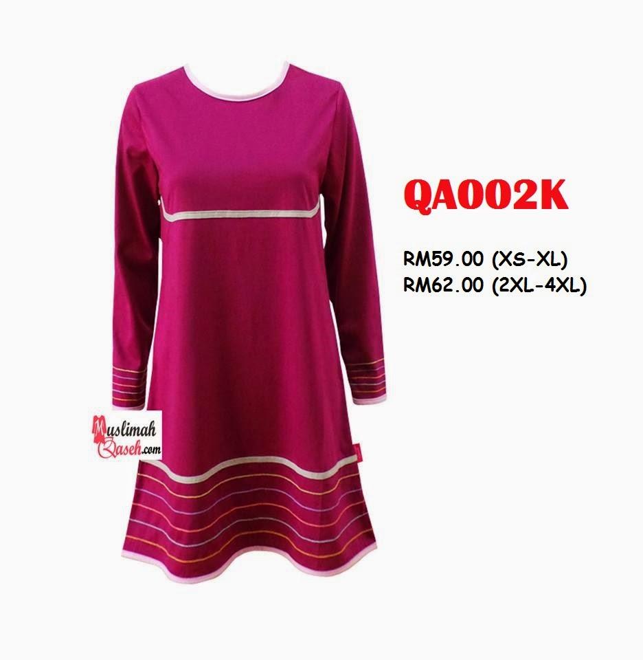 T-Shirt-Muslimah-Qaseh-QA002K