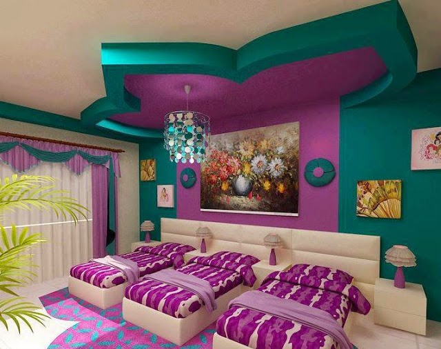 Top ideas unique ceiling decoration for kids room