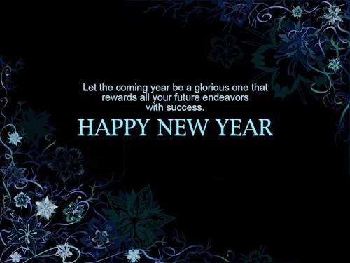 Beautiful Happy New Year Pictures With Message