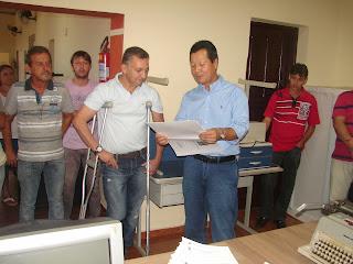 Conquista para Borrazópolis Deputado Federal Luiz Nishimori, em Borrazópolis