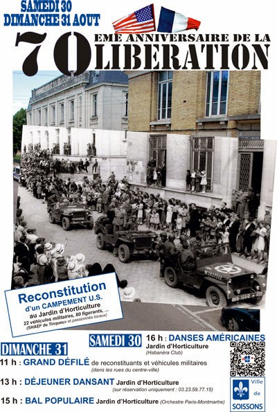 70th Anniversary of the Liberation of Soissons