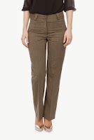Pantaloni Modas verzi din lana model P274 (Ama Fashion)
