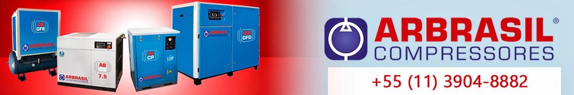 Locação, manutenção e venda de compressores parafuso elétricos e à Diesel