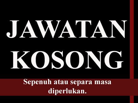 Jawatan Kosong Online/Offline.Sila klik pada cover!