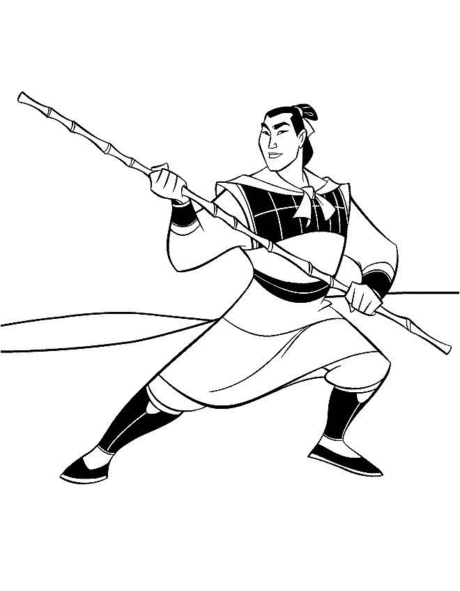 Desenhos para Colorir e Imprimir: Desenhos para Colorir da Mulan ...
