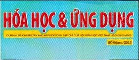 Tạp chí hóa học và ứng dụng số 20 (128) - 2010