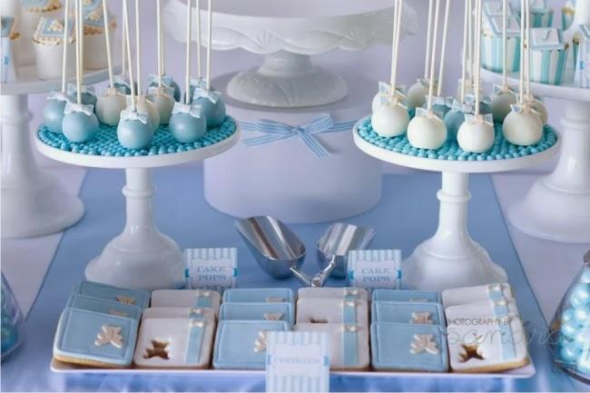Chá de Bebê Tema Ursos, cakepop tema ursos