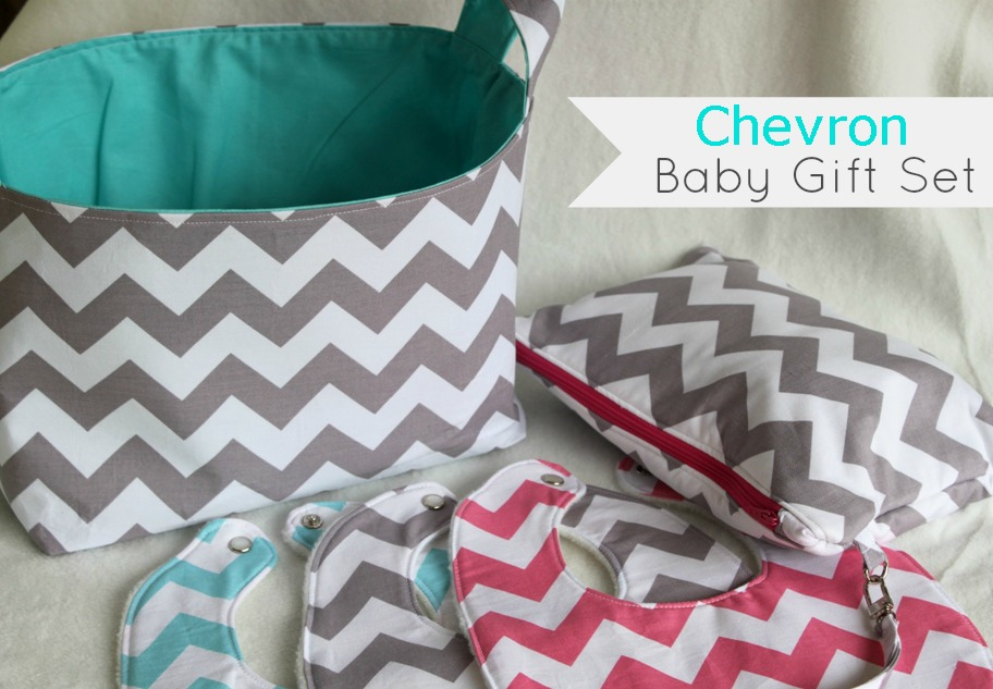 Chevron Baby Shower Gifts Sew Delicious