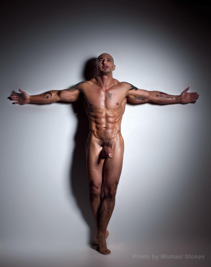 Abs Bulge Easter Guns Legs Muscle Pecs Quentin Elias Tattoos Thighs