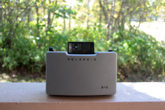 case of Polaroid 210 Land Camera