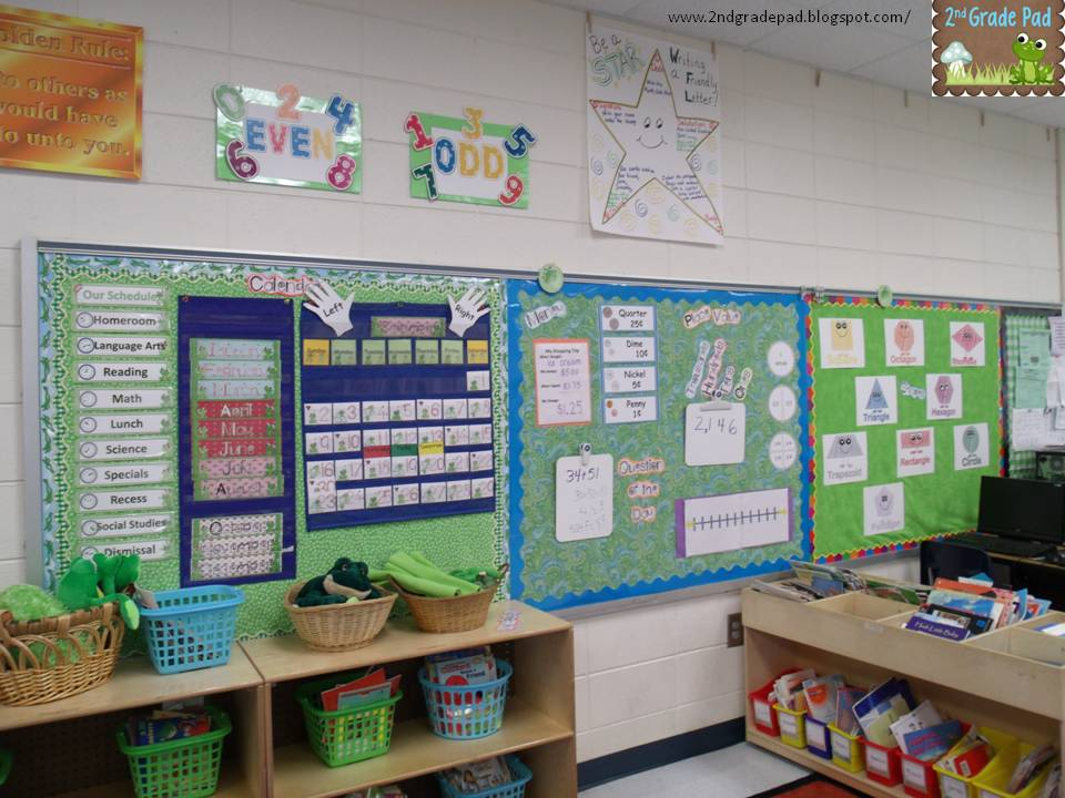 Classroom Ideas Second Grade ~ Nd grade pad it s calendar time